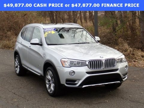 New 2017 BMW X3 xDrive28i AWD