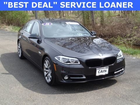 Certified Pre-Owned 2016 BMW 5 Series 535i xDrive AWD