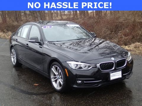 Certified Pre-Owned 2016 BMW 3 Series 330e iPerformance RWD 4D Sedan