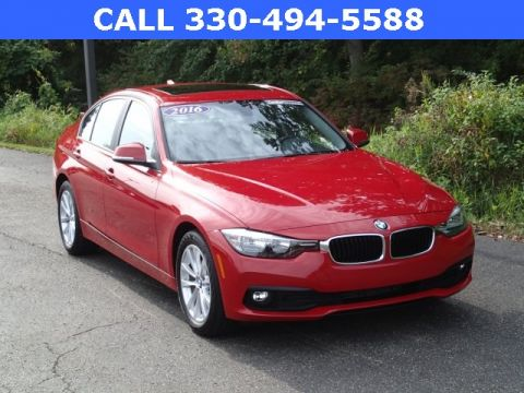 Certified Pre-Owned 2016 BMW 3 Series 320i xDrive AWD