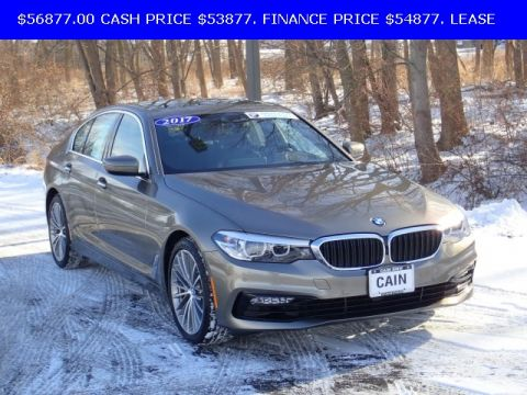 Pre-Owned 2017 BMW 5 Series 530i AWD