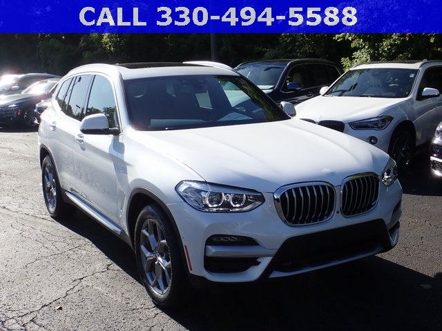 New 2020 BMW X3 xDrive30i AWD