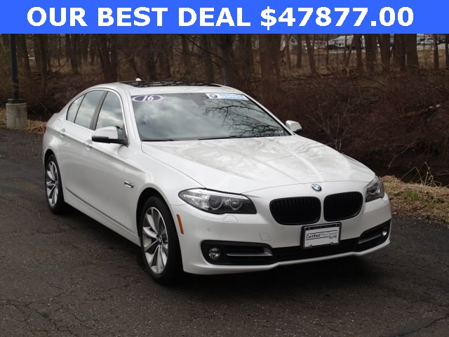 Certified Pre Owned 2016 BMW 5 Series 528i XDrive