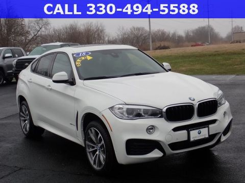 Certified Pre-Owned 2018 BMW X6 xDrive35i